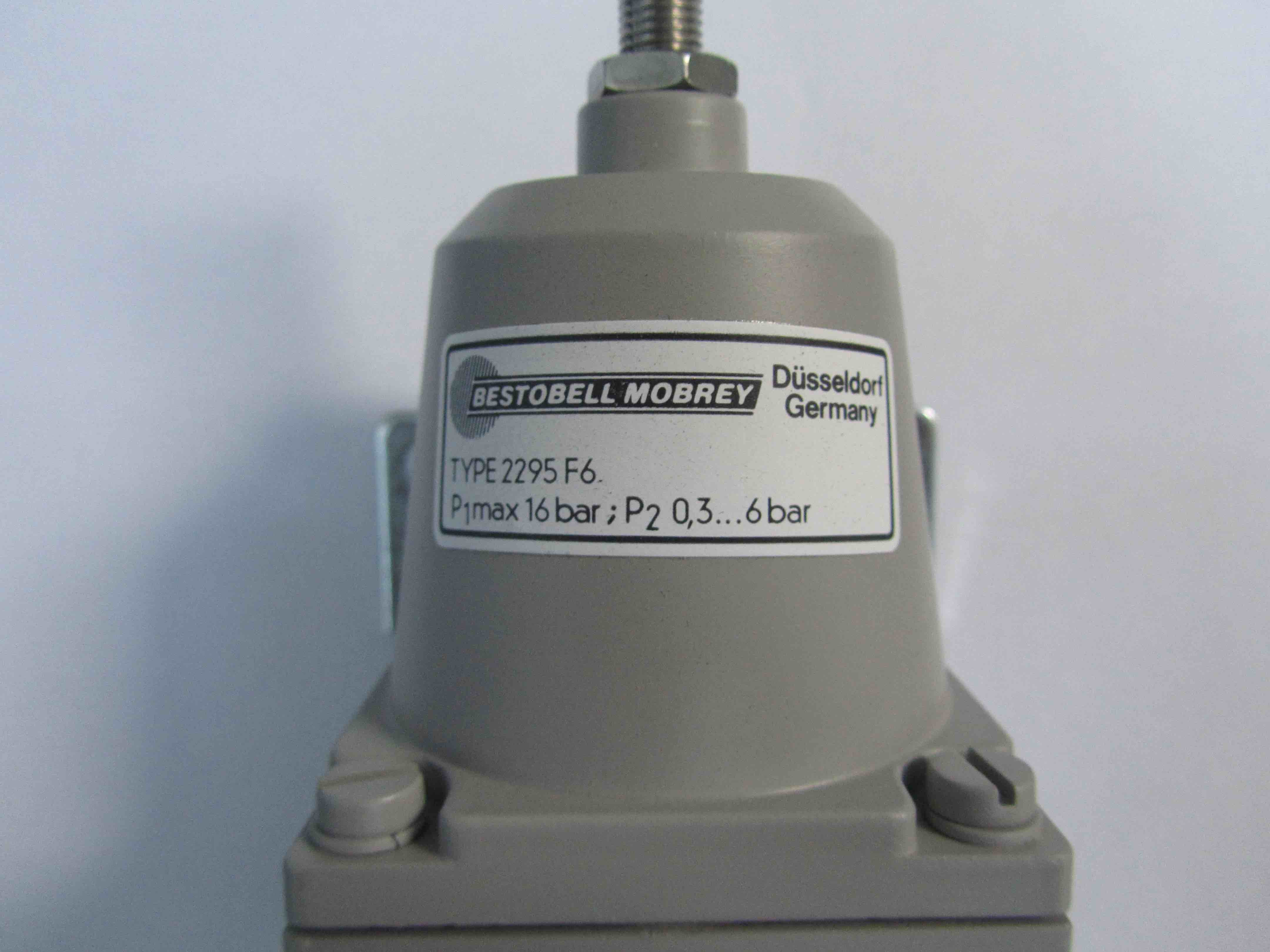 Bestobell Type 2295 F6 Regulator
