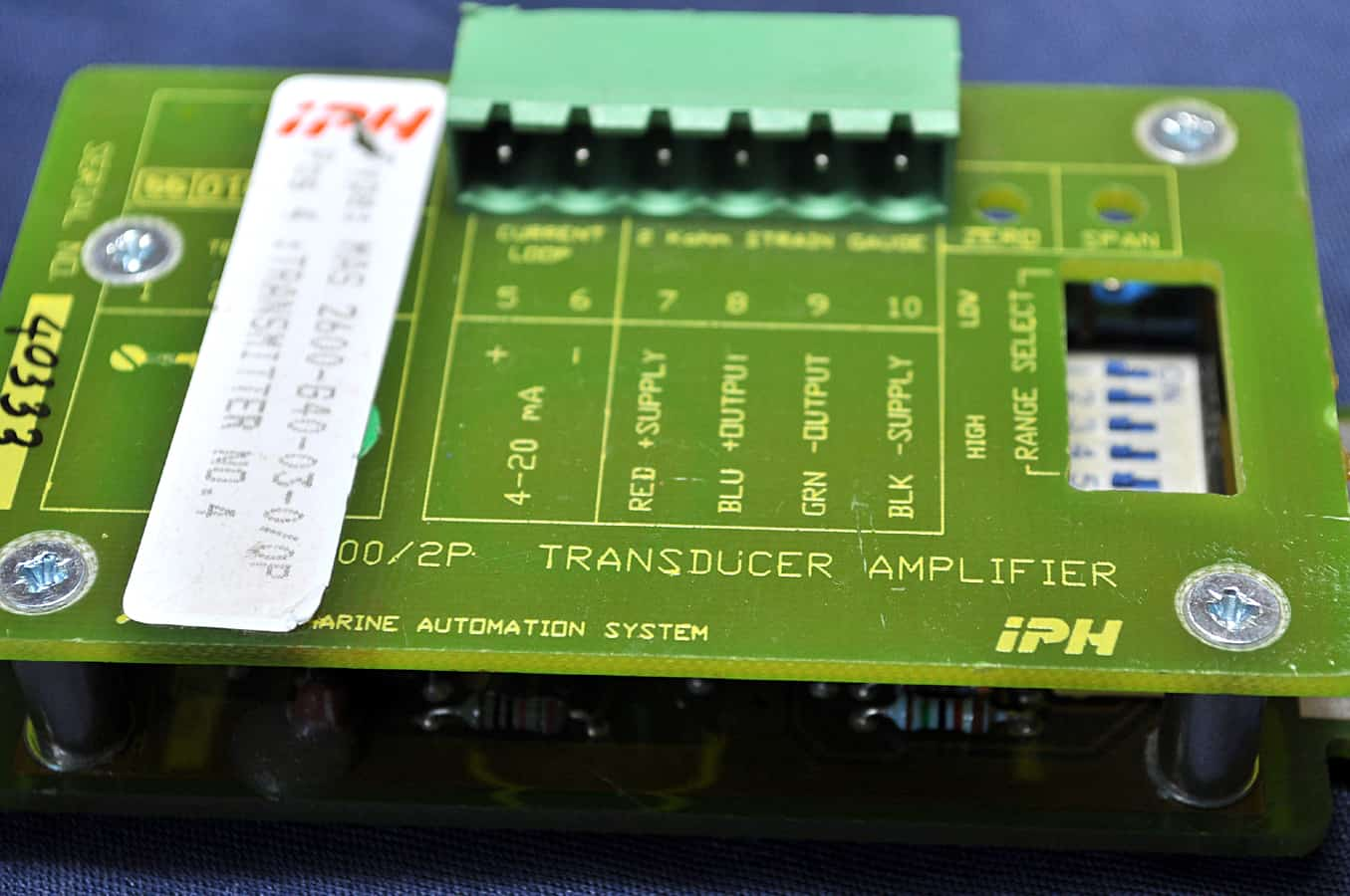 IPH Marine Automation 2600 PCB