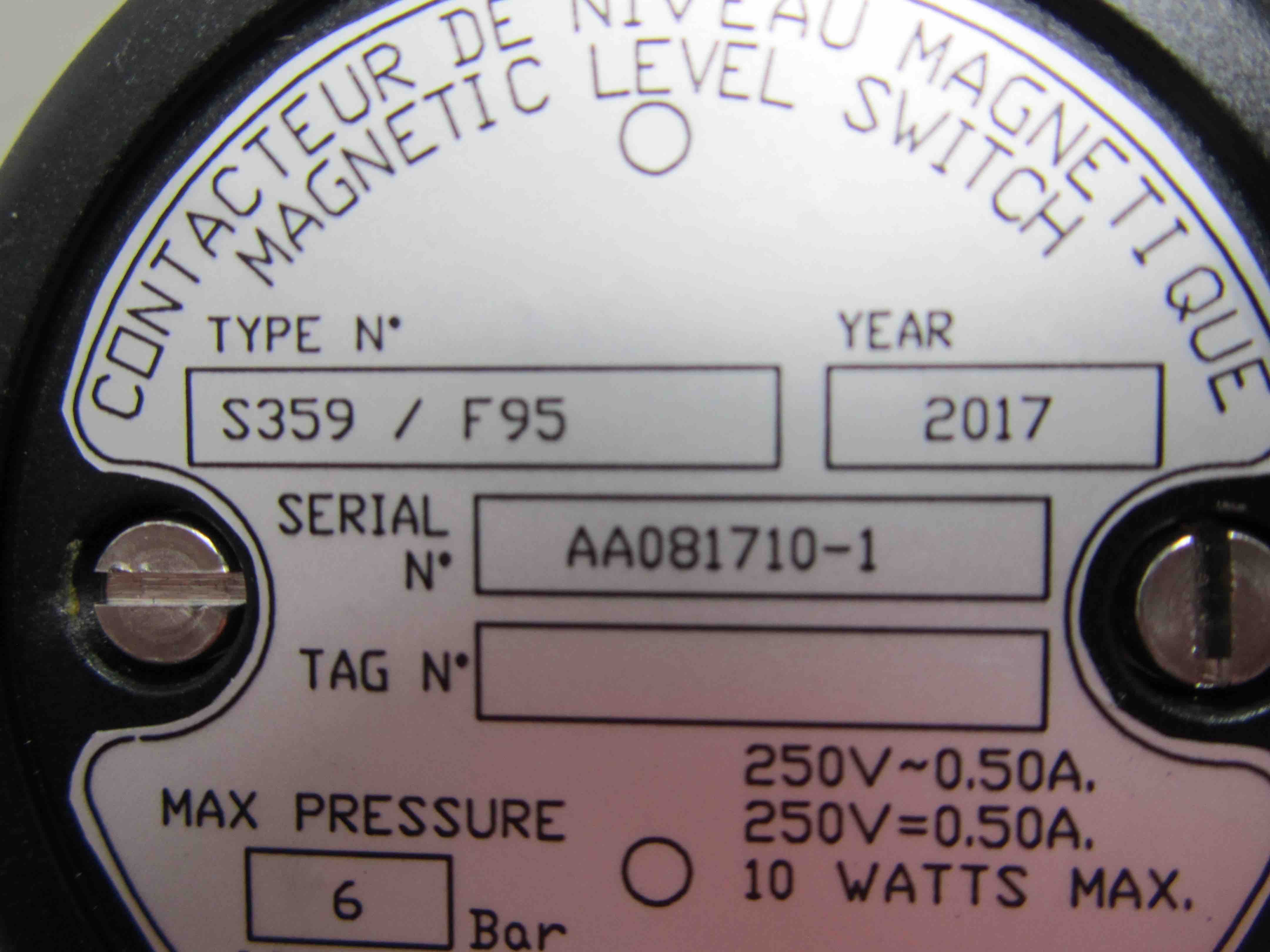 Level Switch S359:F95